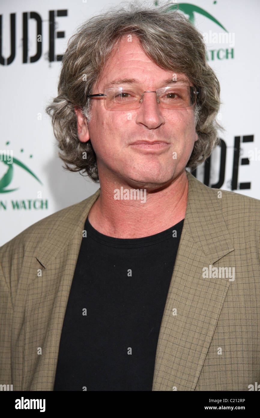 Michael Rymer Screening of 'Crude' hosted by Amazon Watch to benefit their Clean Up Ecuador program at Harmony - Stock Image