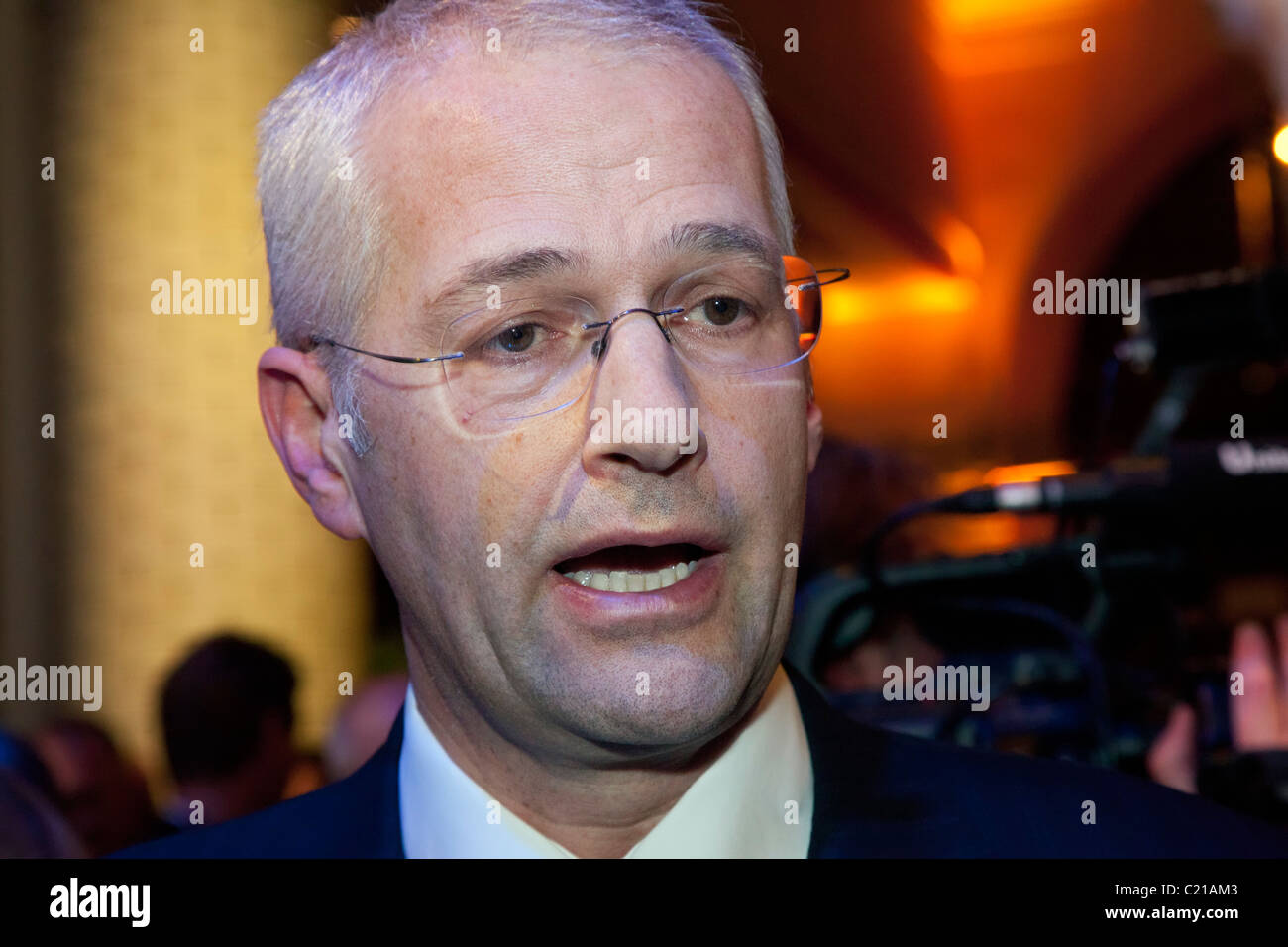 Jonathan Browning, CEO of VW Group of America - Stock Image