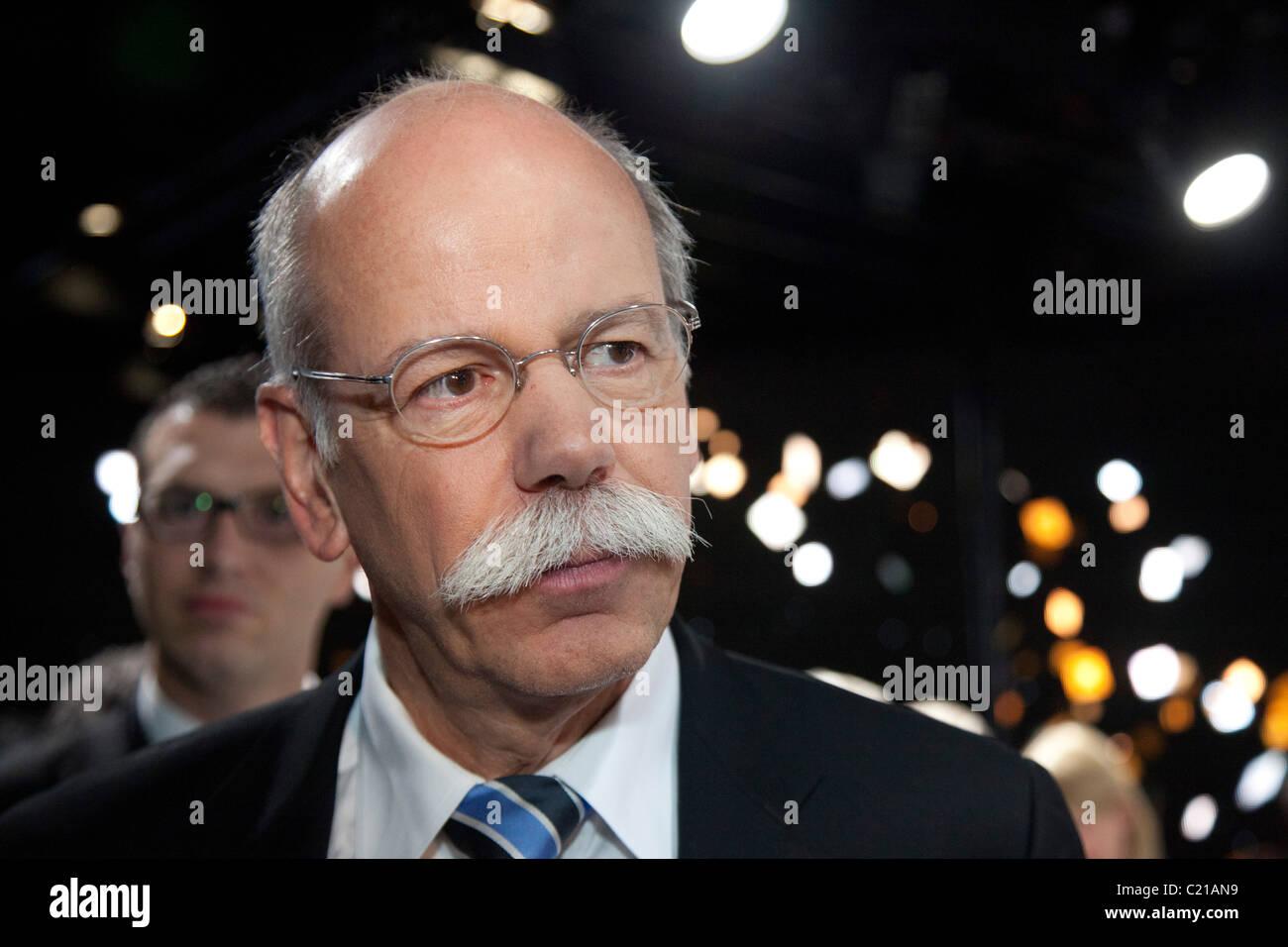 Dr. Dieter Zetsche, chairman of Daimler AG - Stock Image