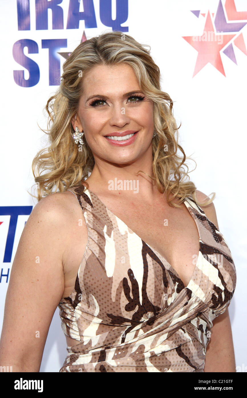 Kristy Swanson attending 'A Night of Honour' which benefits The Iraq Star Foundation at the Universal City - Stock Image