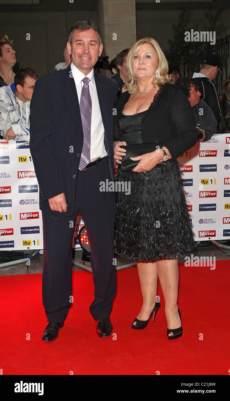 Bryan Robson With His Wife Denise Brindley Pride Of