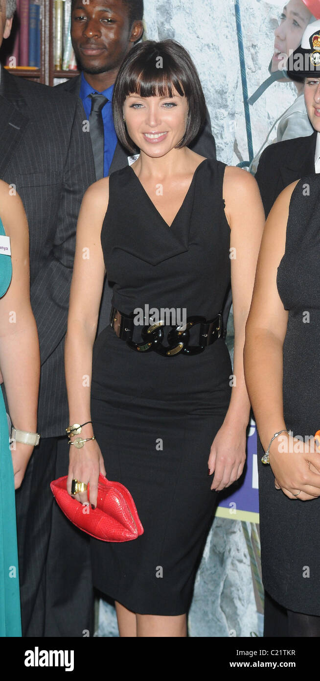 Dannii Minogue  CVQO Appeal - launch and photocall at The Cavalry and Guards Club.  London, England - 06.10.09  - Stock Image
