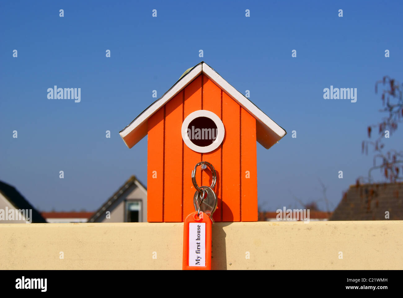 My first house Stock Photo