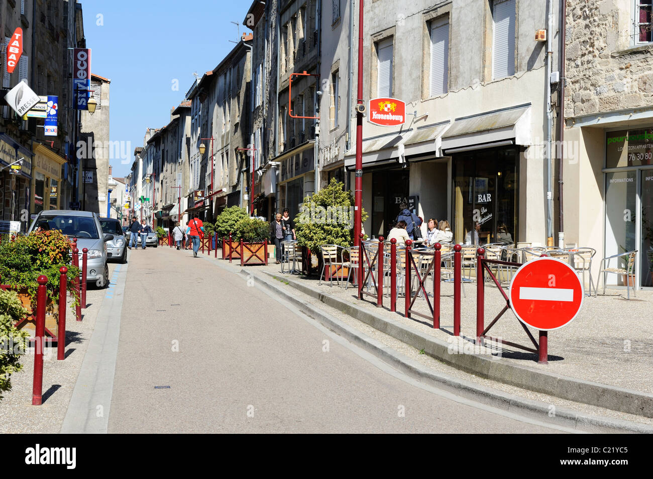 stock photo of st junien in the limousin france stock photo 35693509 alamy. Black Bedroom Furniture Sets. Home Design Ideas