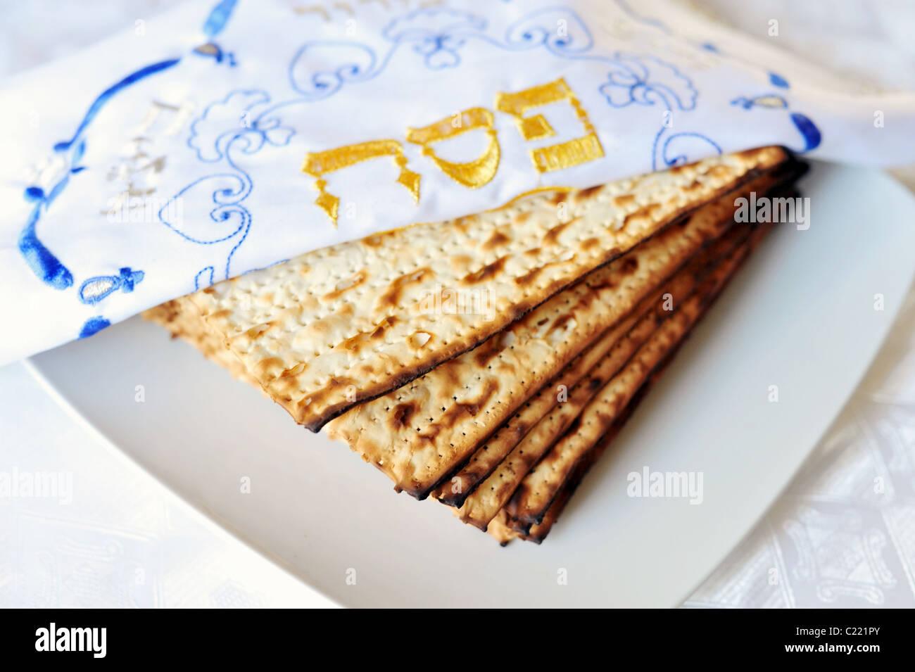 Jewish Holidays - Passover - Pesach - Seder - Stock Image