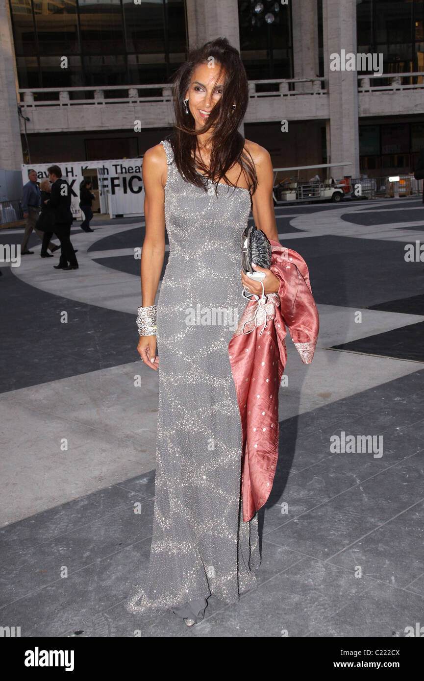 Susan Fales-Hill American Ballet Theatre hosts the 2009 Fall Gala held at the Avery Fisher Hall, Lincoln Center. - Stock Image