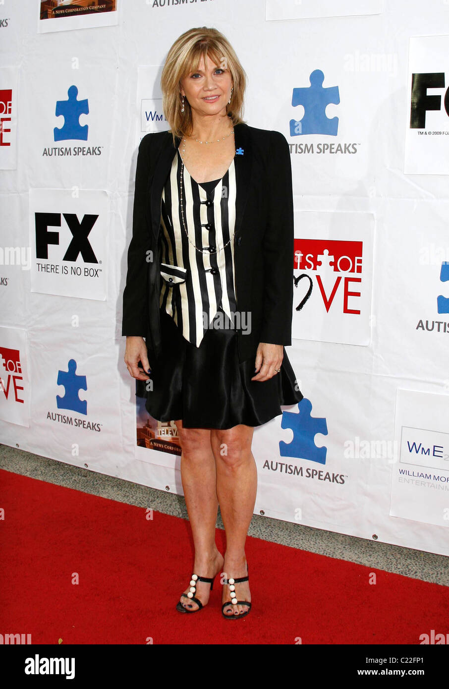 Markie Post Autism Speaks' 7th Annual 'Acts Of Love' Benefit held at Santa Monica College Santa Monica, - Stock Image