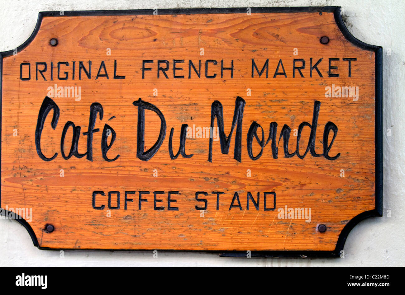Cafe Du Monde in the French Quarter of New Orleans, Louisiana, USA. - Stock Image