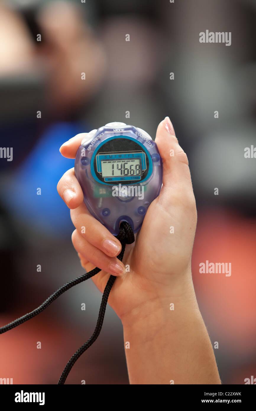 Close-up of a chronometer - Stock Image