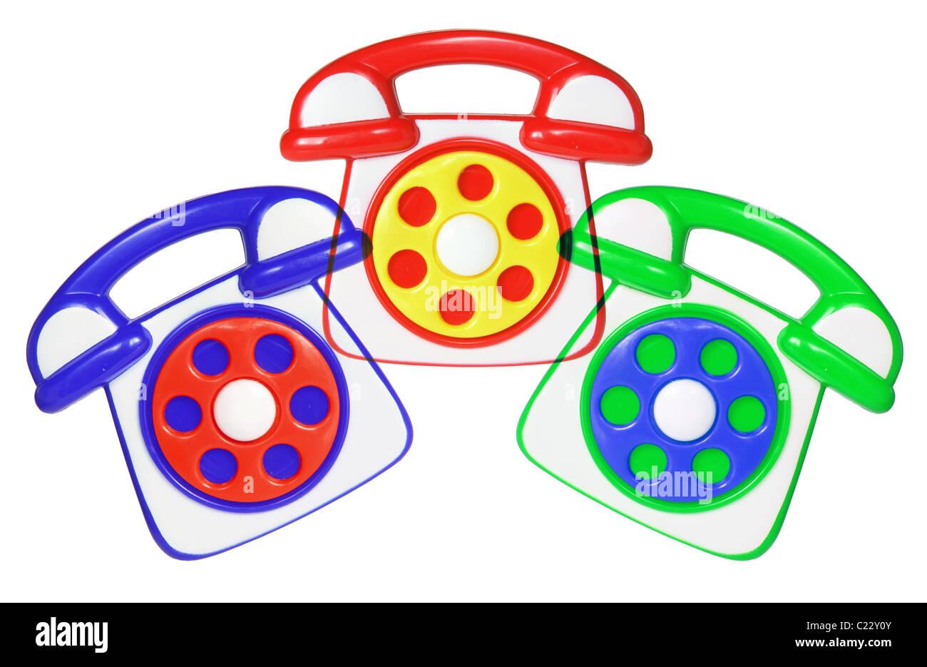 Toy Phones - Stock Image