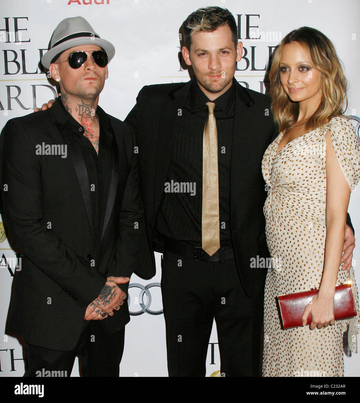 benji madden joel madden and nicole richie the noble