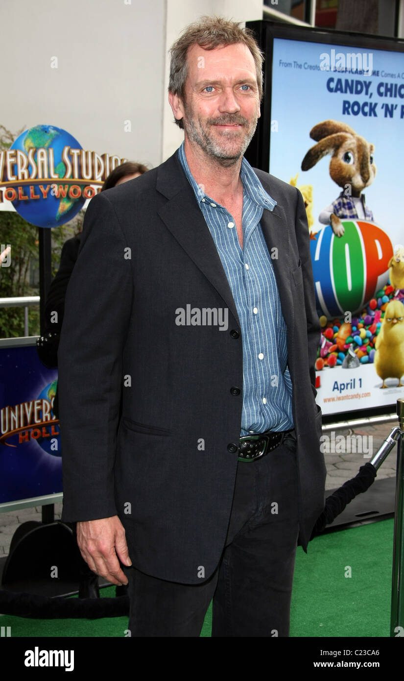 HUGH LAURIE HOP. WORLD PREMIERE UNIVERSAL PICTURES UNIVERSAL CITY CALIFORNIA USA 27 March 2011 - Stock Image