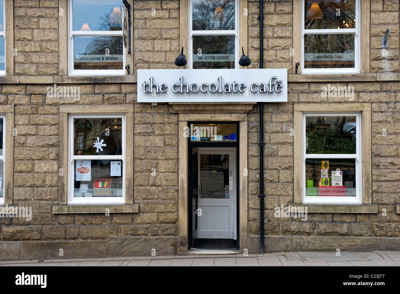 The World Famous Chocolate Cafe In The Town Of Ramsbottom In