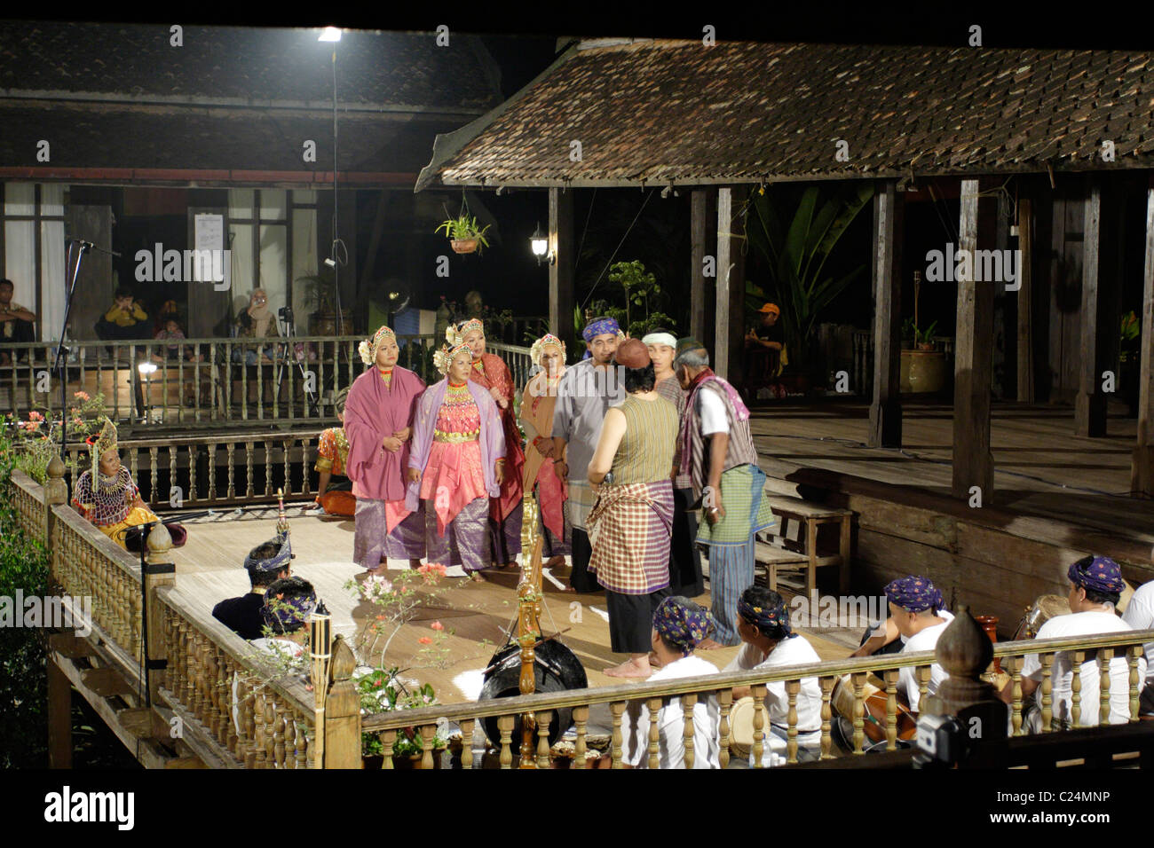 Traditional malay theatre