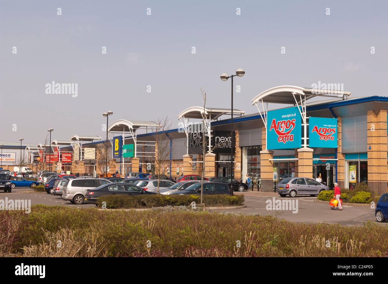 Stores at Longwater Retail Park in Norwich , Norfolk , England , Britain , Uk - Stock Image