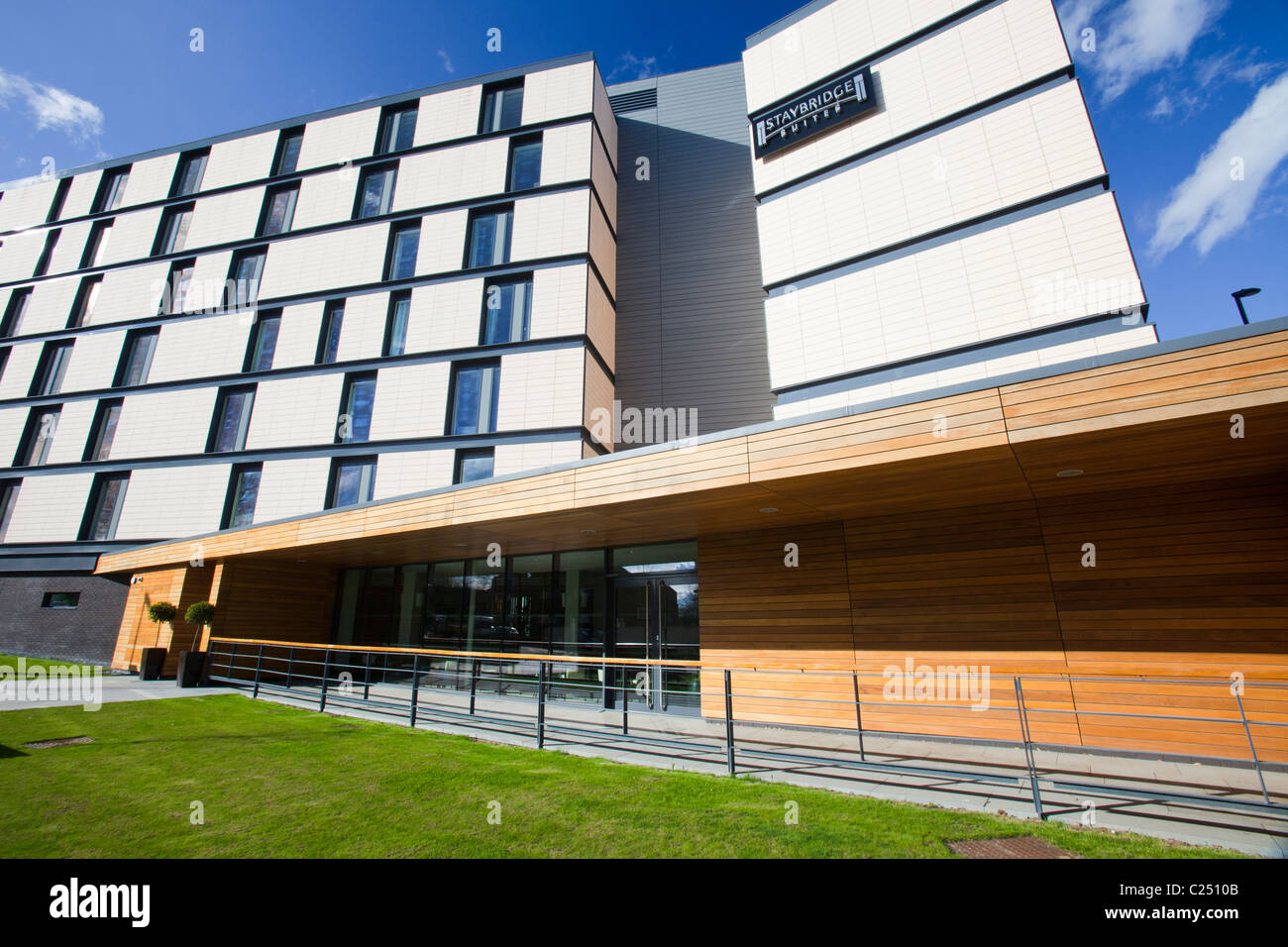 The Staybridge Suites, a new development of apartments in Newcastle City Centre, UK. - Stock Image
