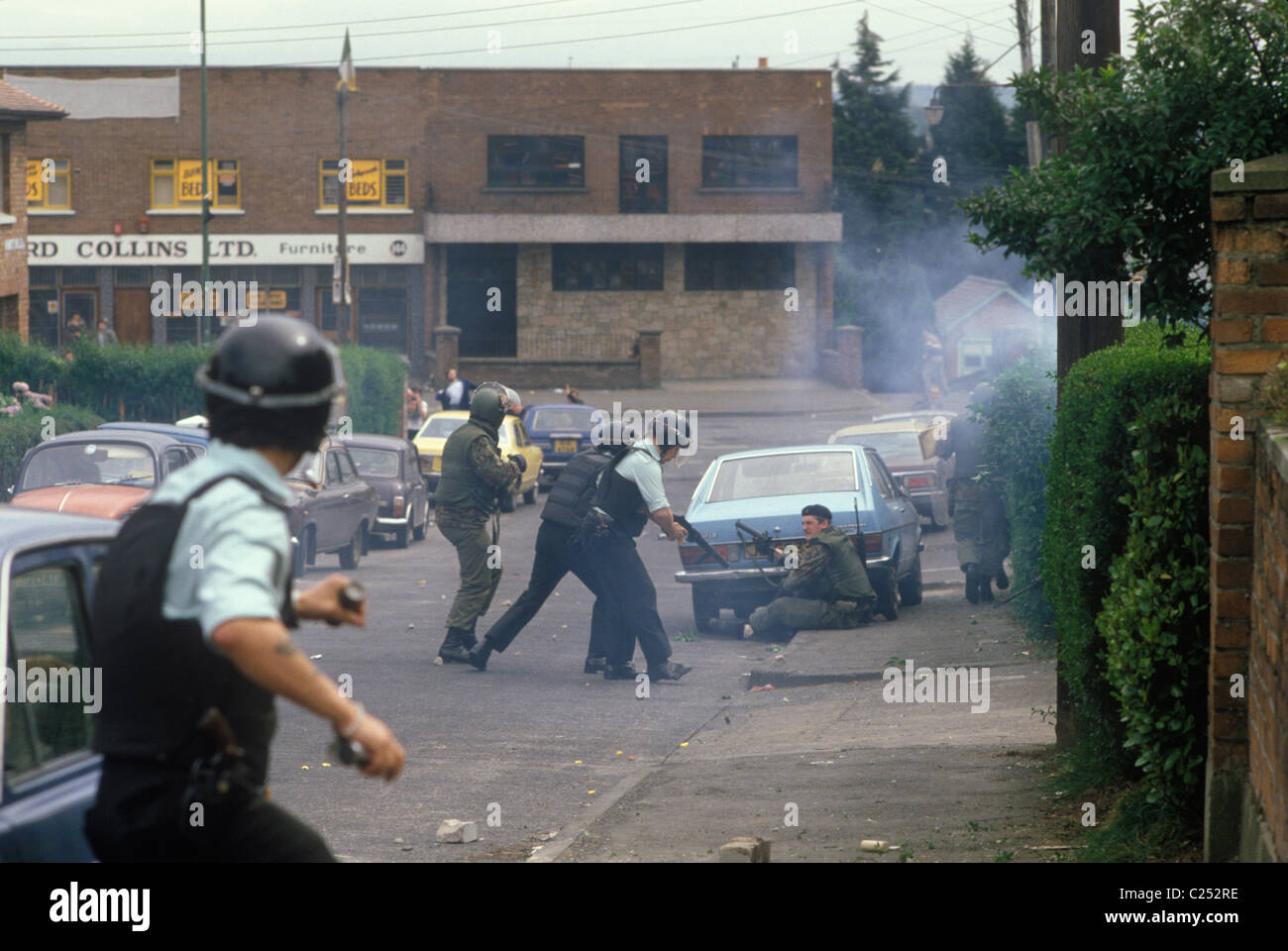 The Troubles 1980s Belfast Northern Ireland Ruc And