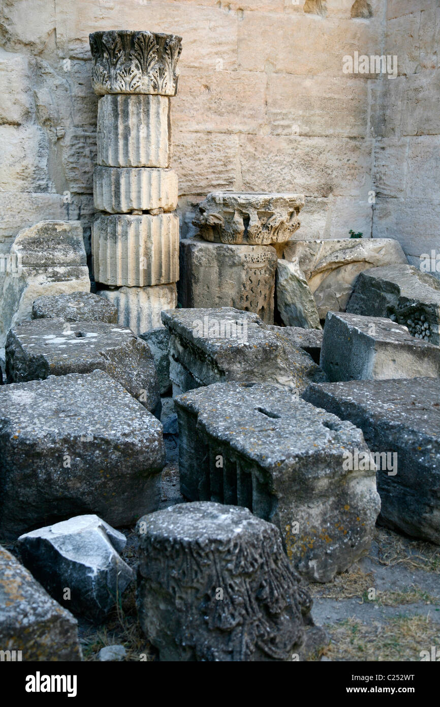 Theatre Antique, Arles, Provence, France. - Stock Image