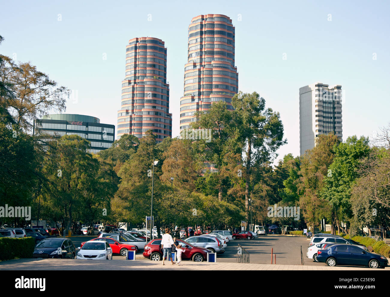 Paseo De La Reforma Mexico City - Stock Image