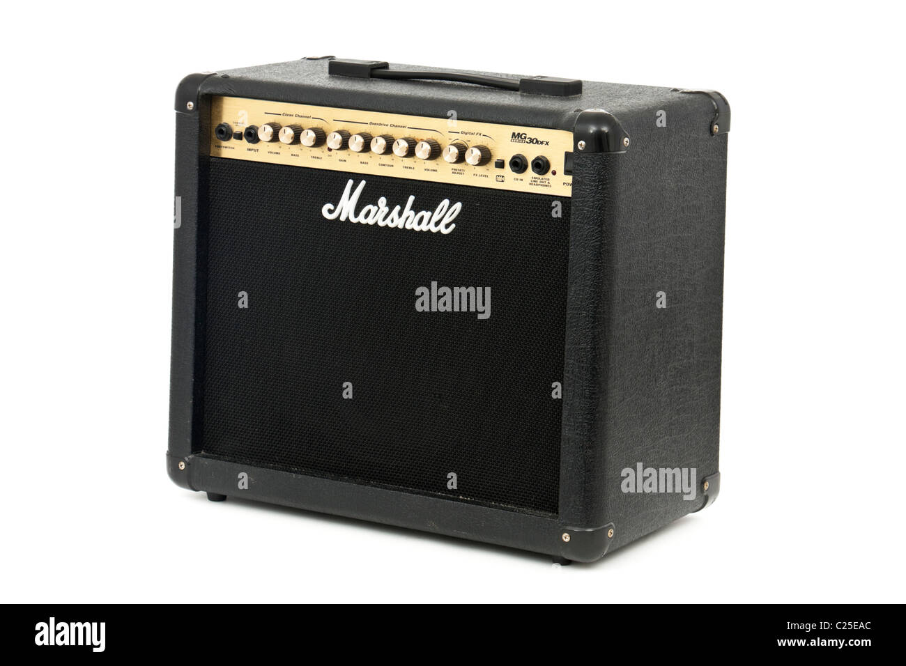 Marshall MG-series 30DFX electric guitar amplifier - Stock Image