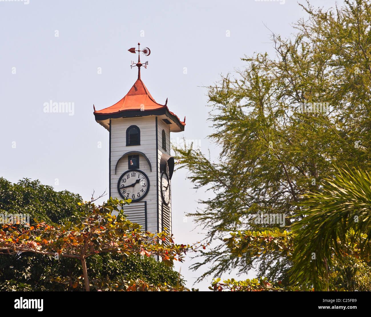Atk9inson Clock Tower in Kota Kinabalu, Sabah, Borneo, Malaysia - Stock Image