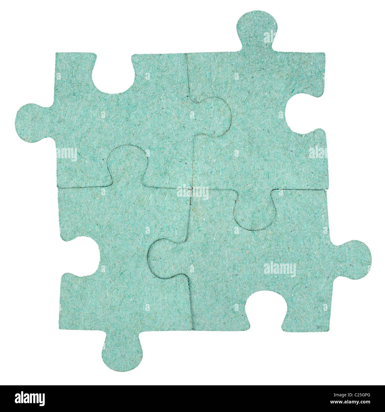 Jigsaw puzzle background - Stock Image