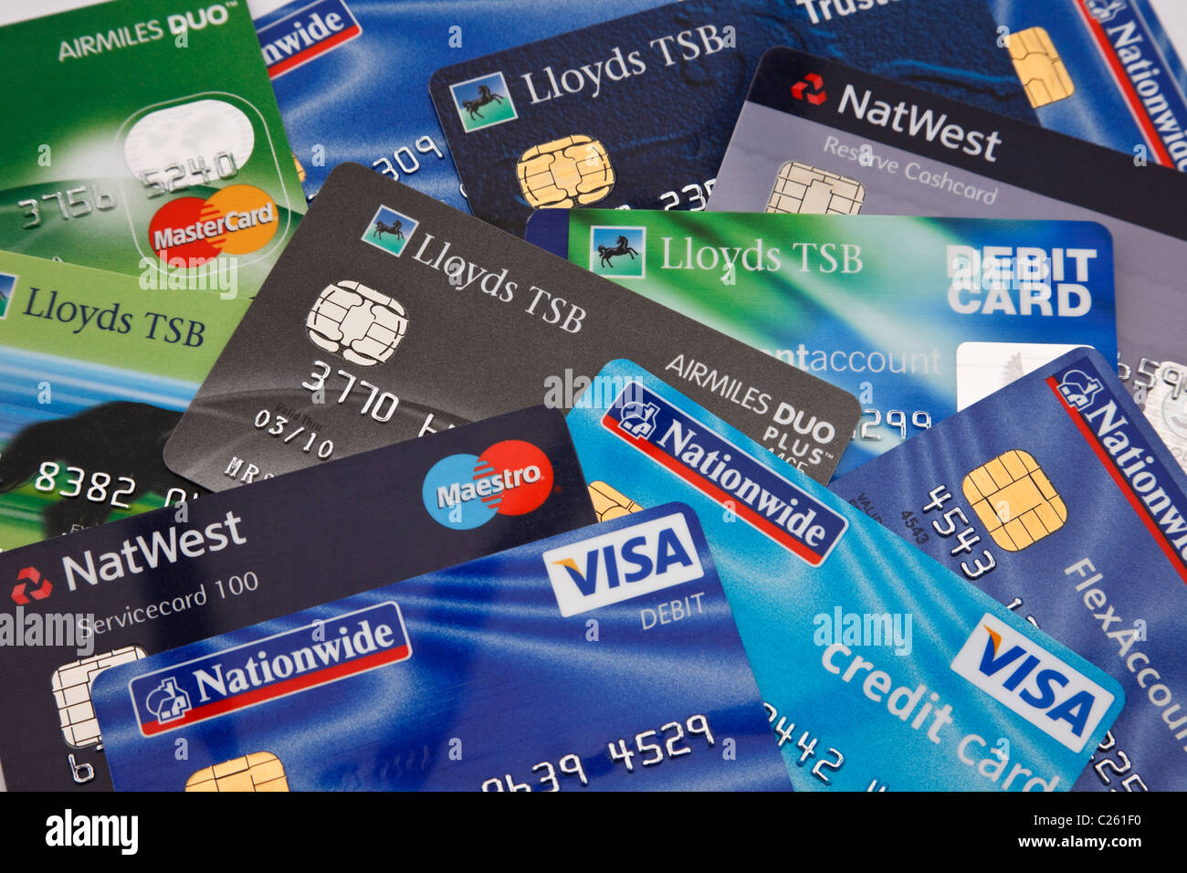 Lloyds Tsb Visa Card Stock Photos Lloyds Tsb Visa Card Stock