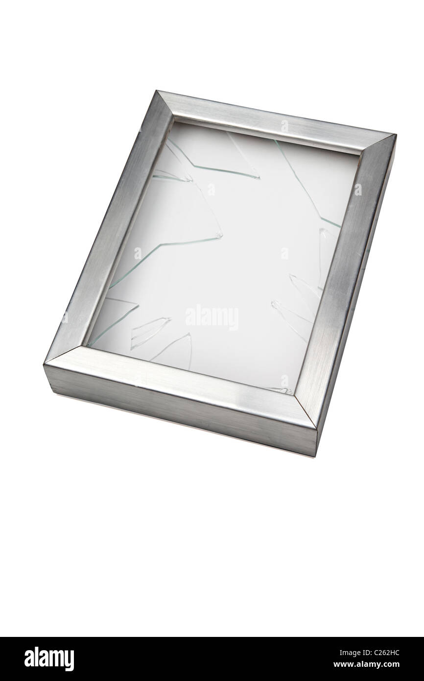 Glass Picture Frame Broken Stock Photos & Glass Picture Frame Broken ...