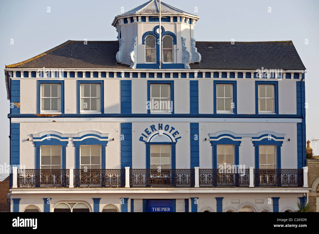 Pier hotel Harwich, Essex, UK. - Stock Image