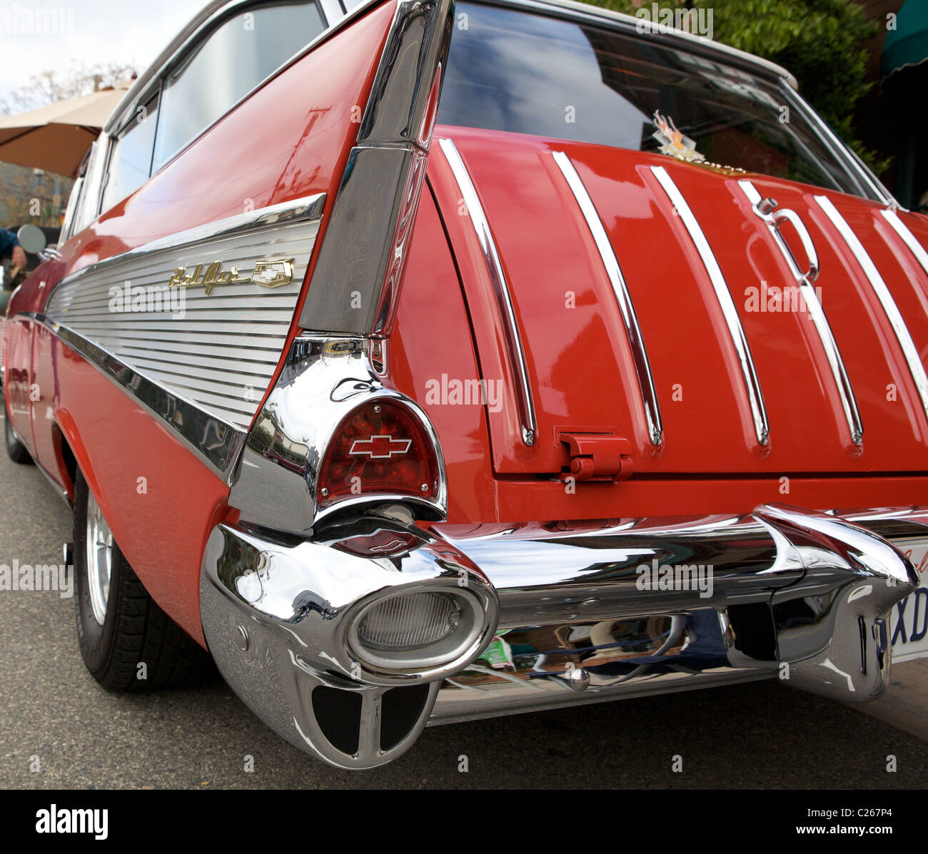 1957 Chevy Nomad Stock Photos Images Alamy Bel Air Chevrolet Image