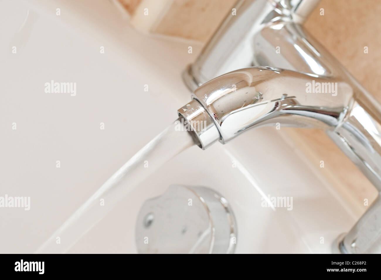 Bathroom Taps - Stock Image