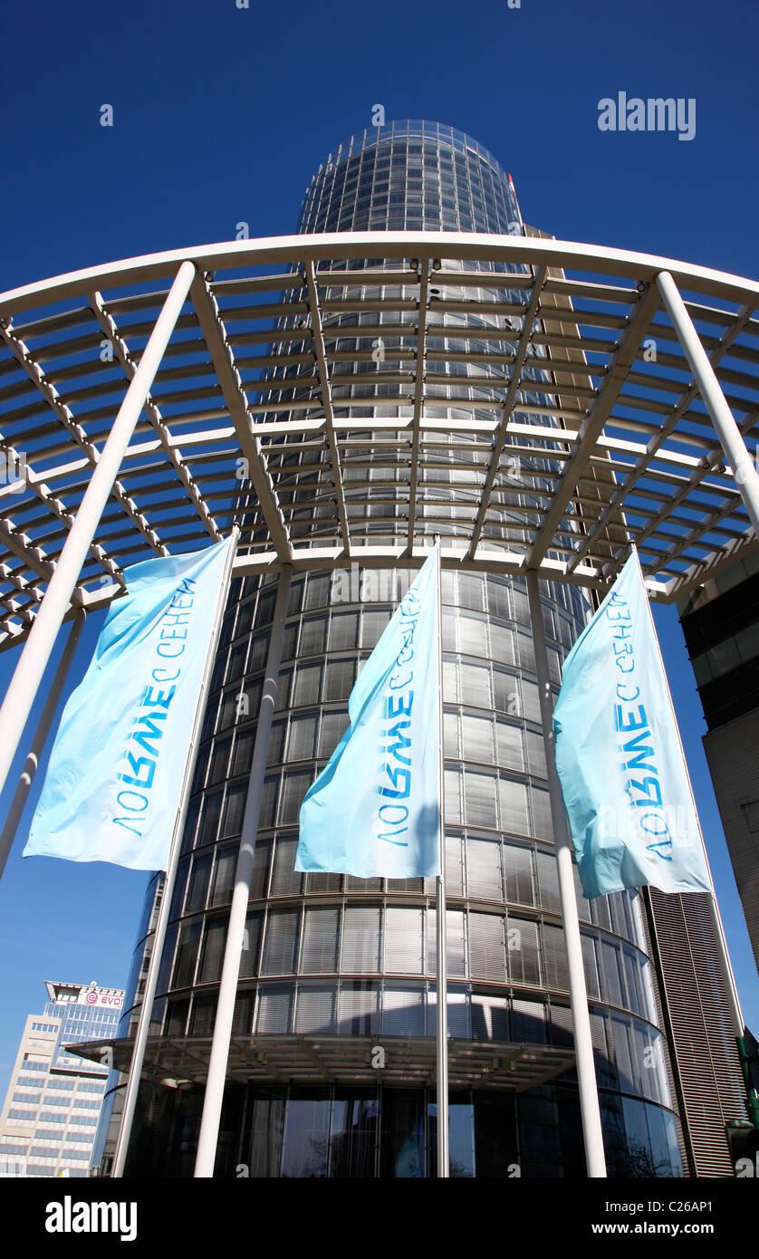 Headquarter of German energy company RWE, in Essen, Germany. Stock Photo