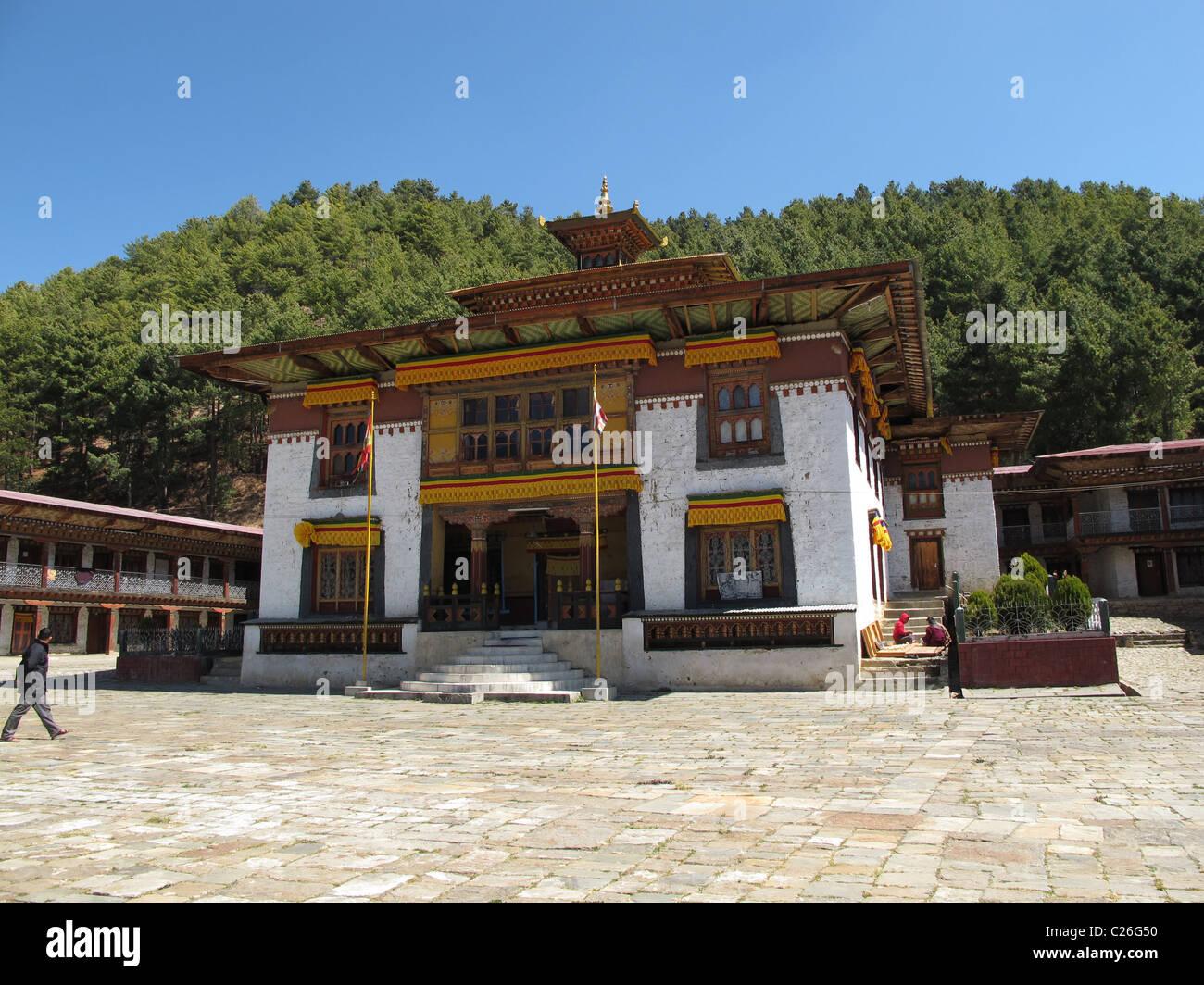 Namkhe Nyingpo gompa in Jakar, Bumthang - Stock Image