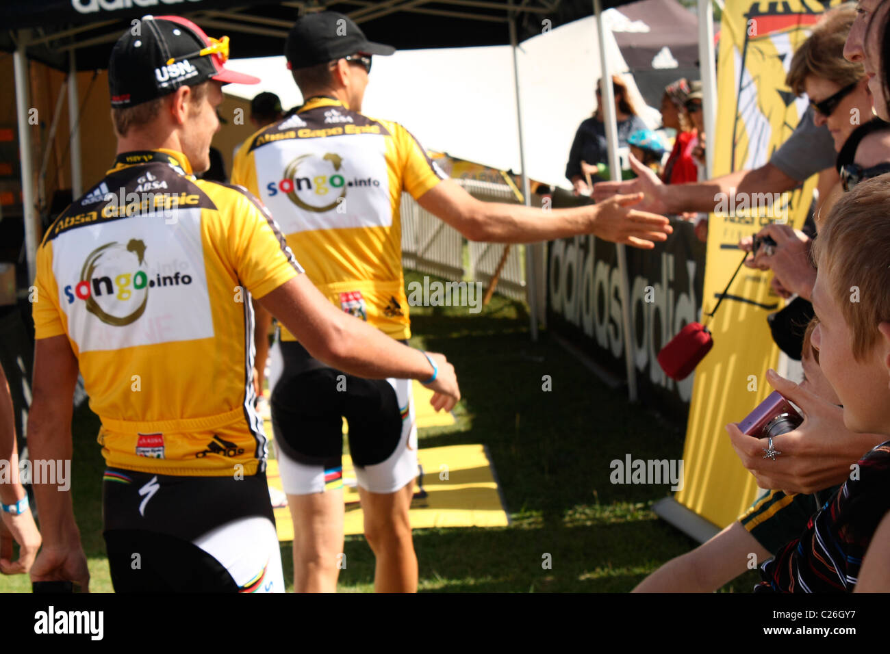 Absa Cape Epic 2011 - Stock Image