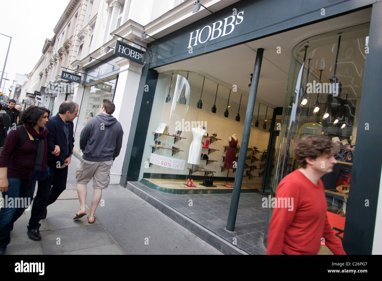 5f8742cc372f Hobbs clothing shop store Stock Photo: 35799463 - Alamy