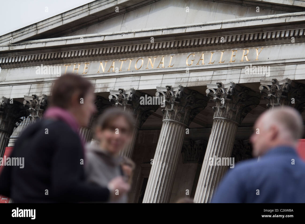 The National Gallery London Stock Photo