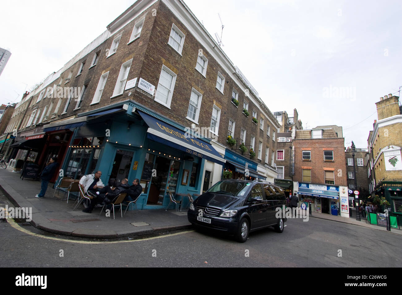 Shepherds Market London - Stock Image