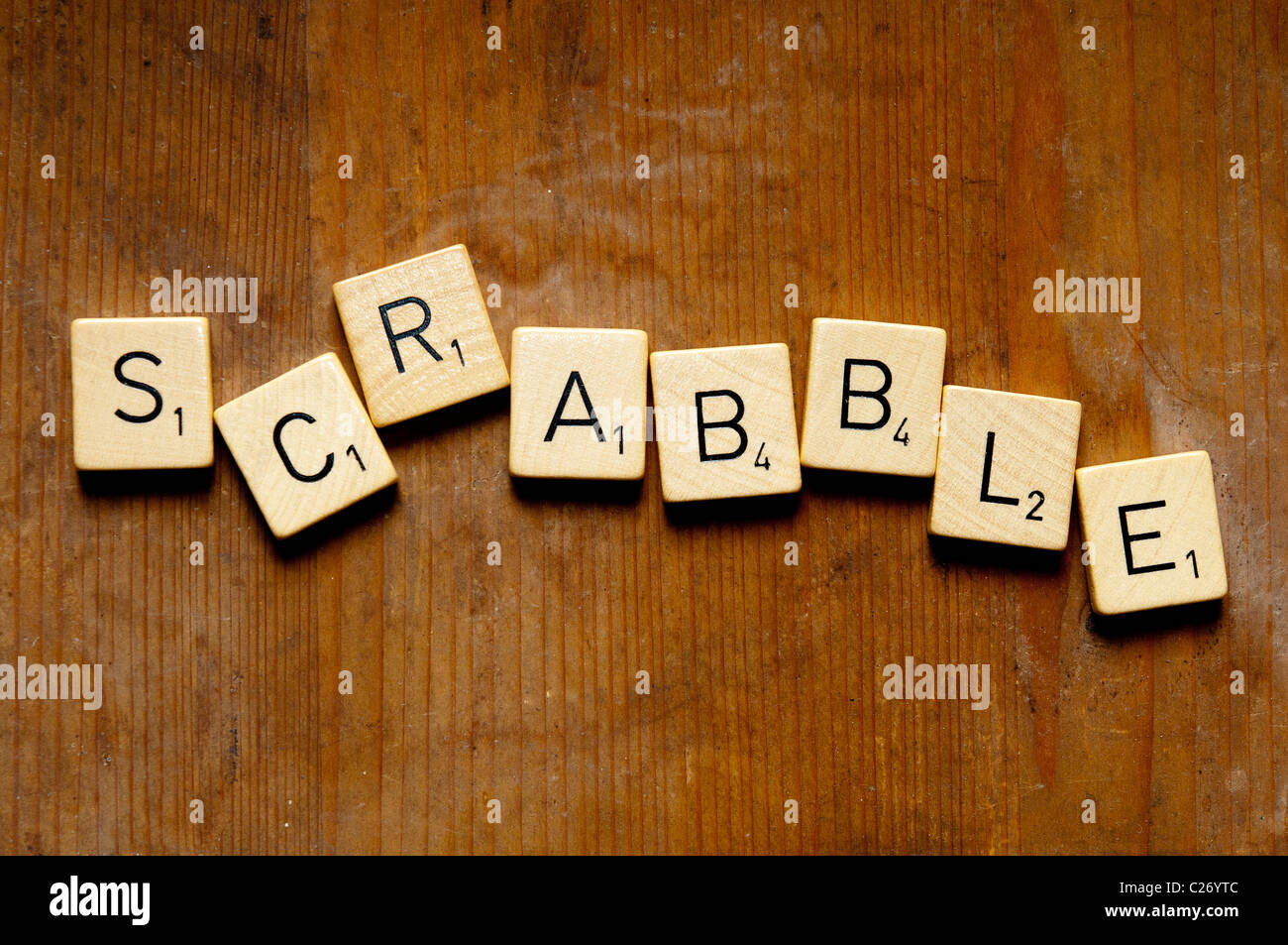 scrabble word made with tiles Stock Photo: 35803612 - Alamy
