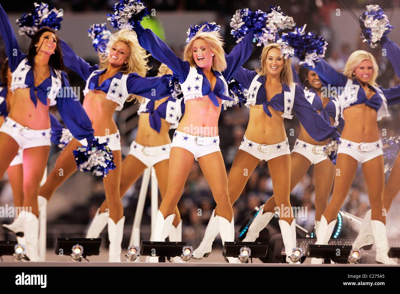 bb73ffcb6 Dallas Cowboys Cheerleaders Dallas Cowboys v Oakland Raiders held at the  Cowboy s Stadium The Dallas Cowboys