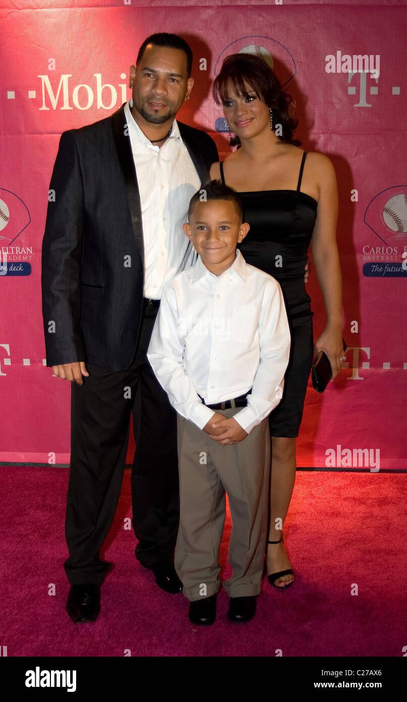 Pedro Feliciano With His Family Carlos Beltran Foundation