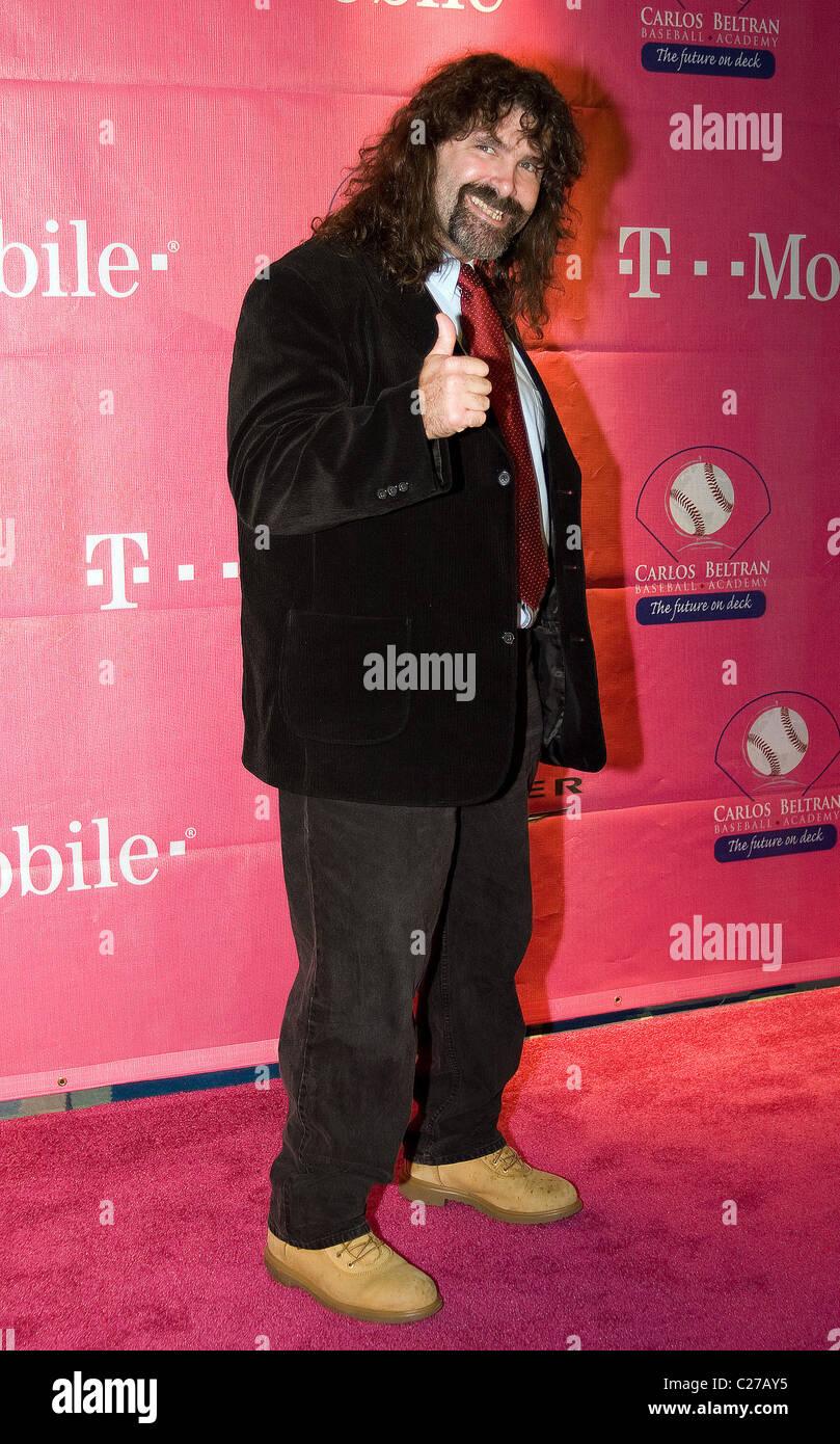 Mick Foley Carlos Beltran Foundation Gala Held At The Puerto
