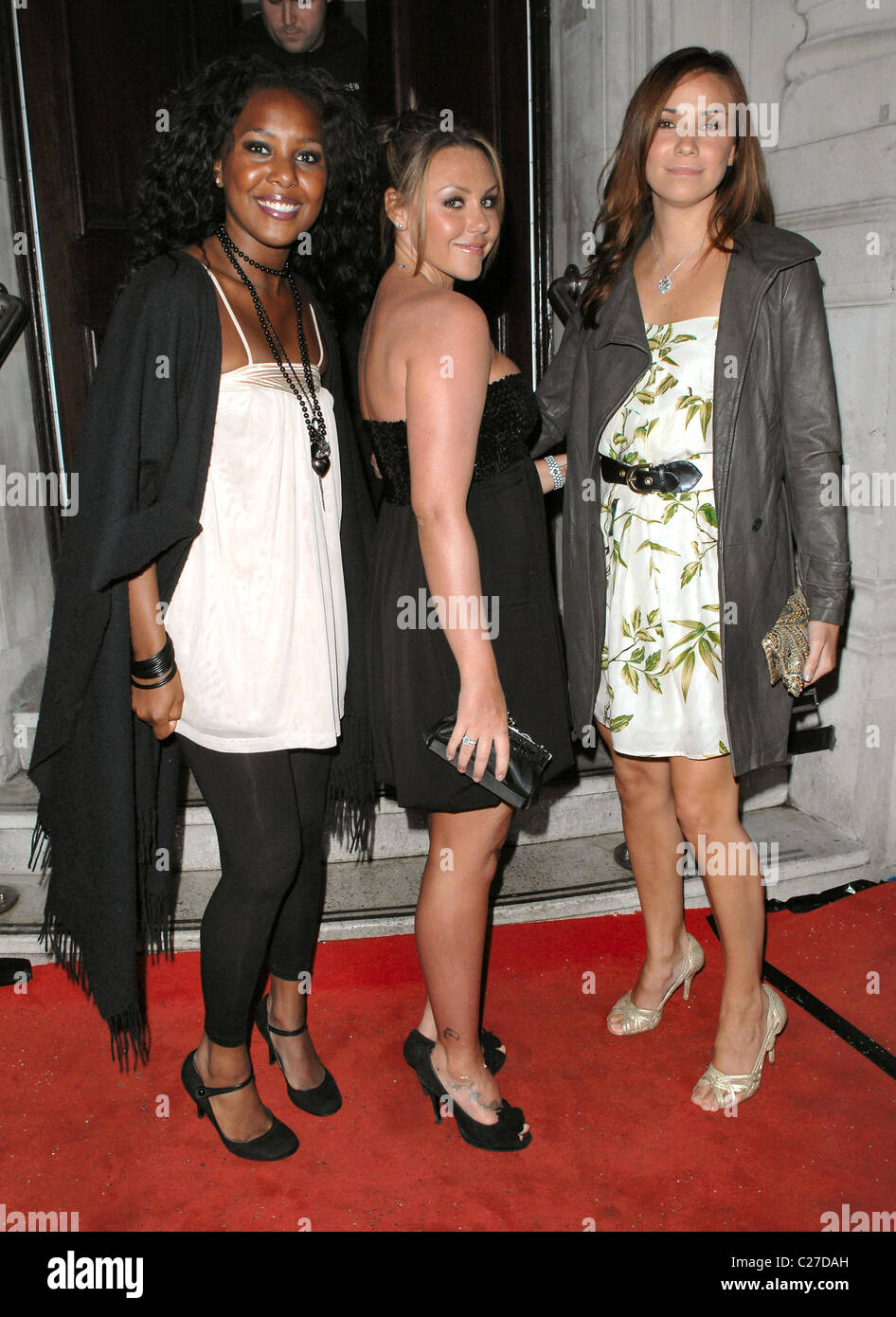 Kelli Young Michelle Scott Lee And Jessica Taylor Of Liberty X The Aussie Day Party Held At The Commonwealth Club London