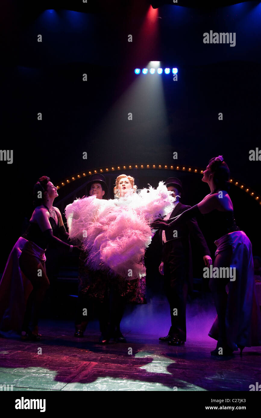 Musical comedy Betty Blue Eyes, based on the feature film 'A Private Function' showing at the Novello Theatre. - Stock Image