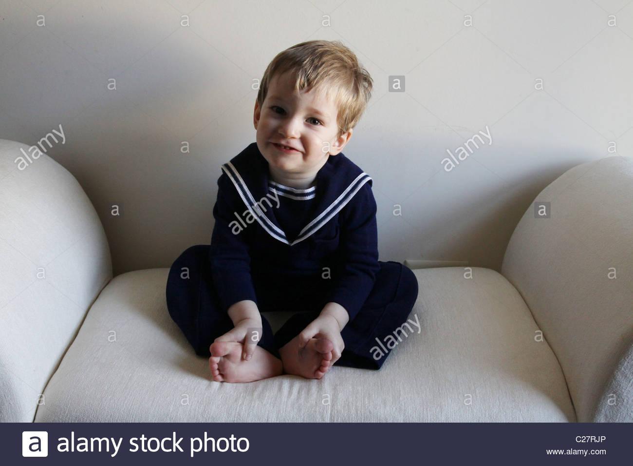 A cute 2 year old boy.
