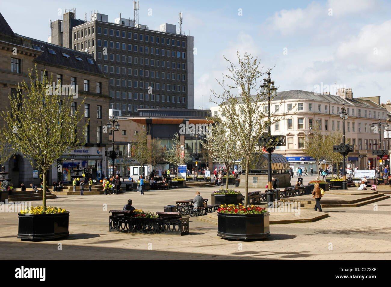 City Square, Dundee - Stock Image