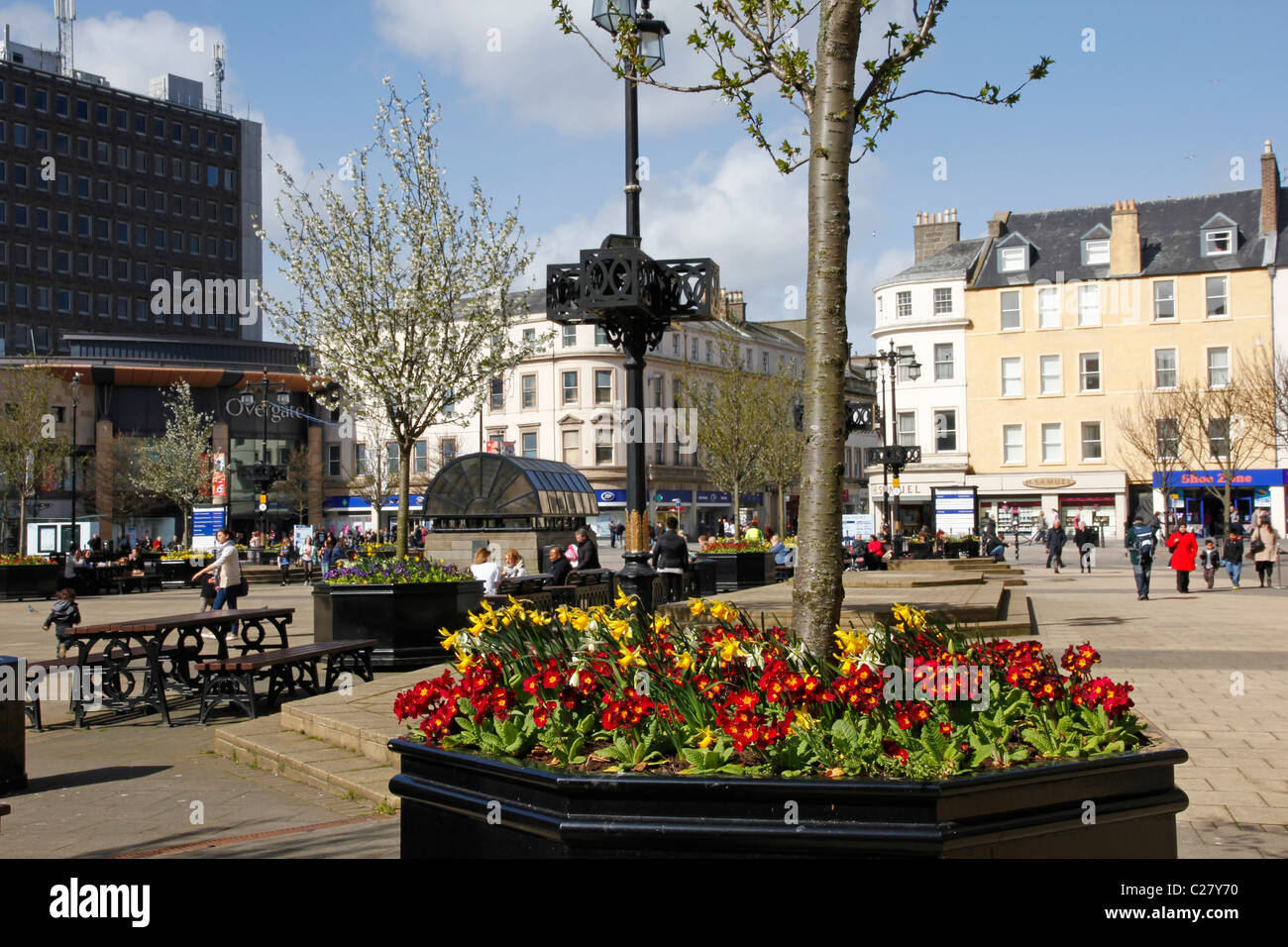 City Square, Dundee, Tayside - Stock Image