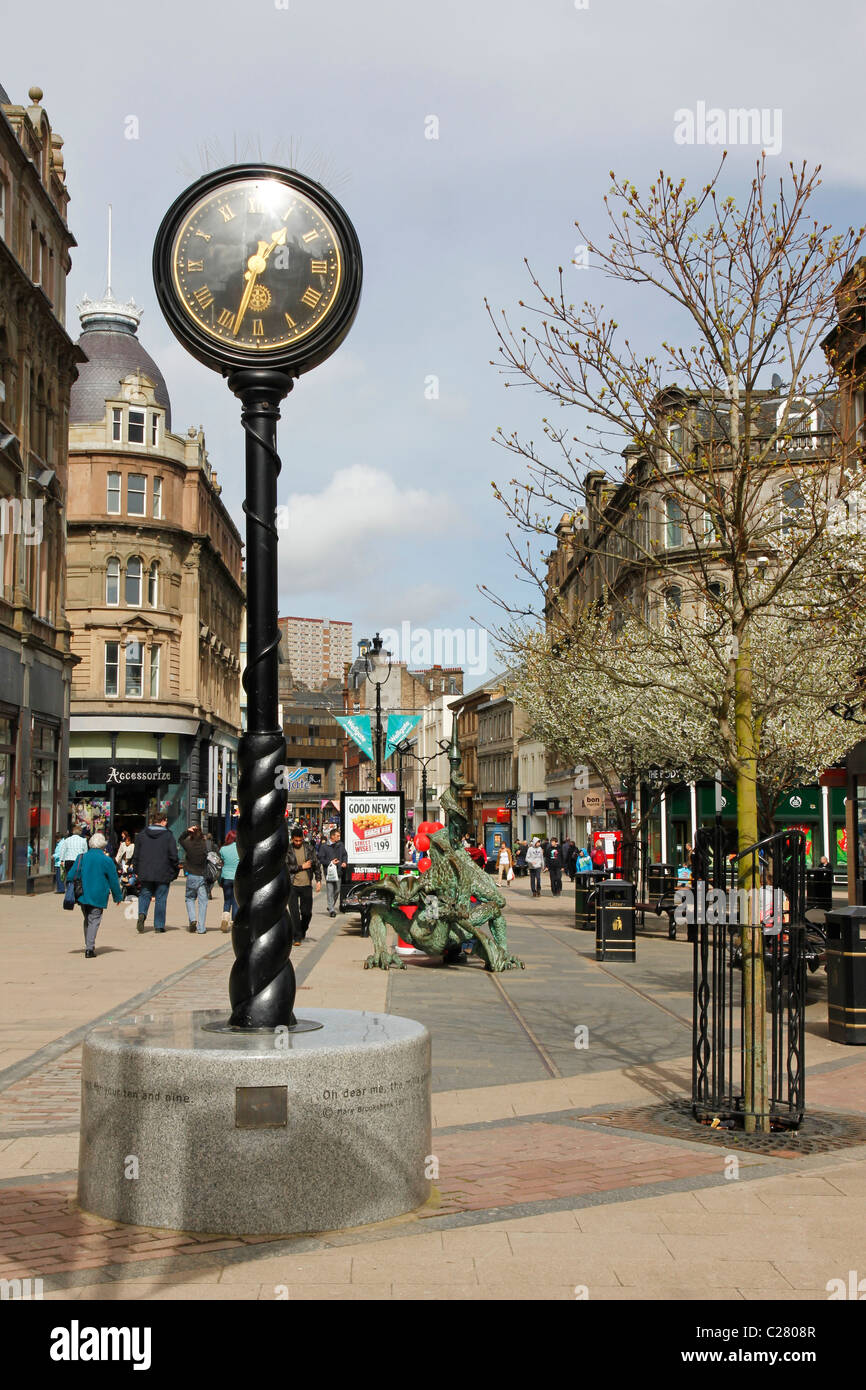 High Street, Dundee, Tayside - Stock Image