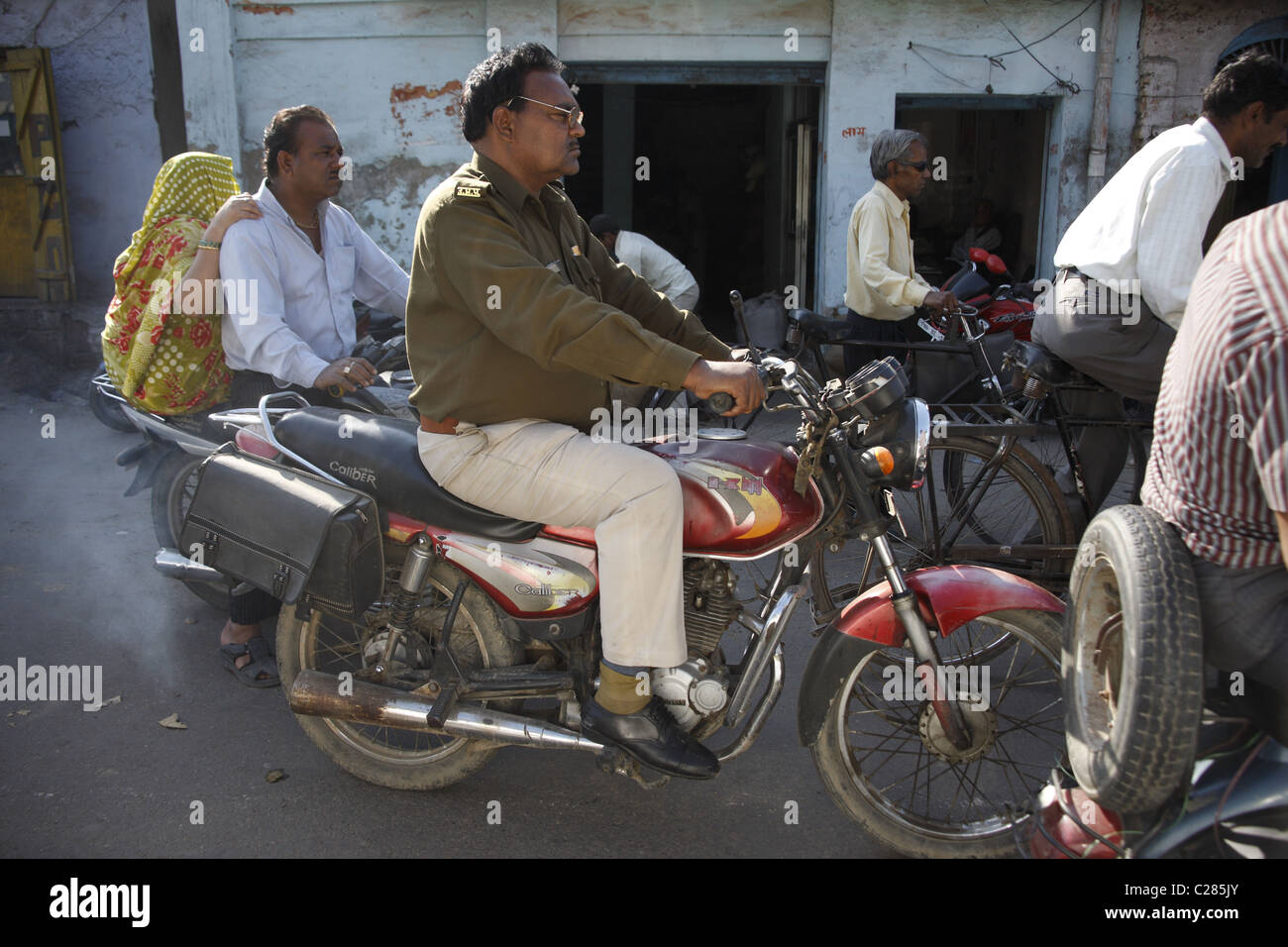 IND, India,20110310, daily routine - Stock Image