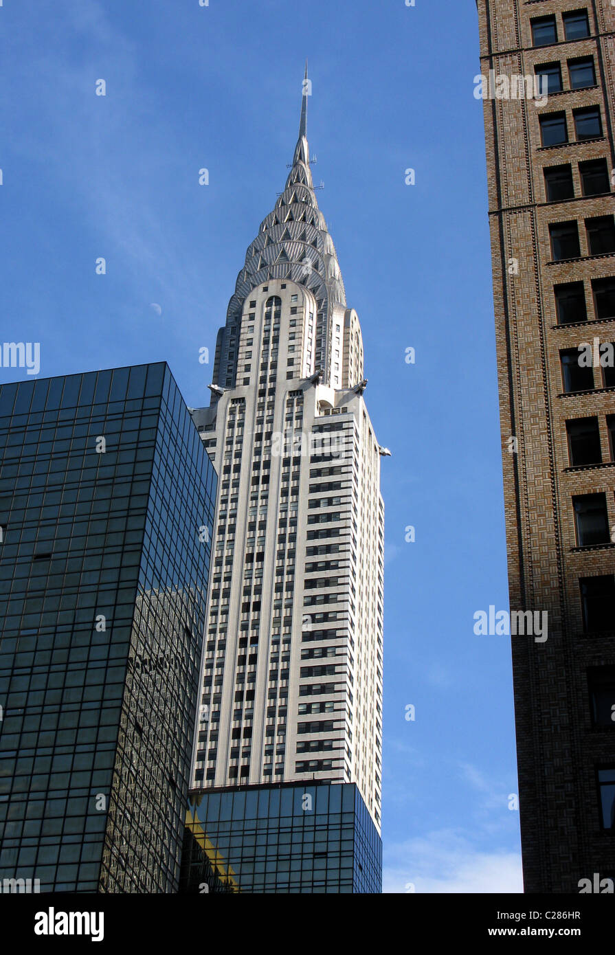 Chrysler Building, New York City Chrysler Building, USA - Stock Image