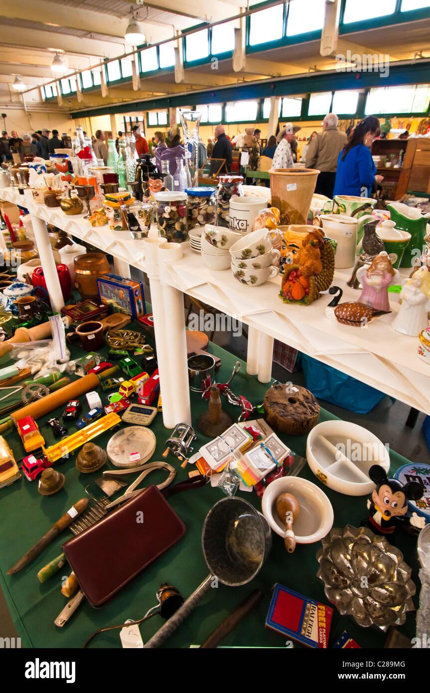 Picc-a-dilly Flea Market, Eugene, Oregon - Stock Image